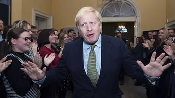 Der britische Premierminister Boris Johnson will sich auf keinen Fall vertraglich auf die Einhaltung von EU-Standards bei Umweltschutz, Arbeitnehmerrechten und staatlichen Wirtschaftshilfen festlegen lassen. (Archivbild)
