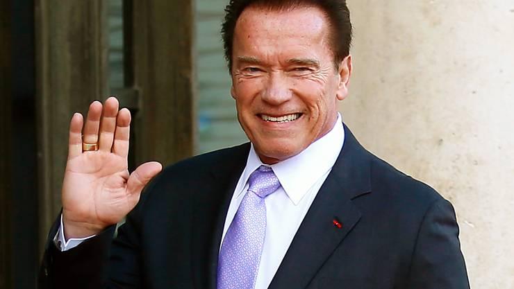 Nach der OP am offenen Herzen wieder zu Hause: Filmhaudegen Arnold Schwarzenegger. (Archivbild)