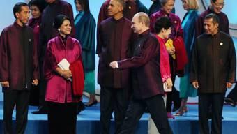 """APEC: Aufstellung zum """"Familienphoto"""""""