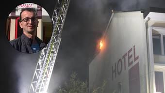 Berat Dzemaili, stv. Geschäftsführer des Hotels Passage, ist geschockt.