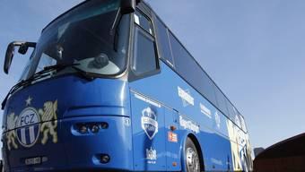 Der blinde Passagier reiste mit diesem Bus