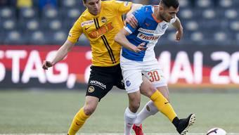 Gianluca Gaudino (links), hier gegen Dedim Bajrami, zeigte ein sehr gutes Spiel