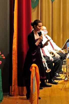 Jana Bolliger führte das Publikum durch das Konzert