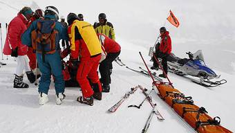 Zusammenstösse sind die häufigsten Skiunfälle (Archiv)