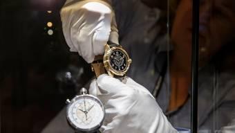 Zehn Schweizer Schmuck- und Uhrenhersteller sind in der Rangliste der Top 100 Luxusgüterunternehmen. (Symbolbild)