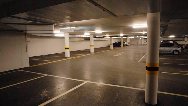Freie Plätze Auch das Parkhaus Zentrumsplatz in Wettingen ist nicht sehr gut frequentiert.