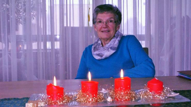 Vreni Meier ist Mitorganisatorin der offenen ökumenischen Weihnachtsfeier.