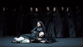 Cecilia Bartoli als Iphigenie am Opernhaus Zürich.