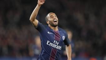 Lucas brachte PSG gegen Bastia nach etwas mehr als einer halben Stunde in Front