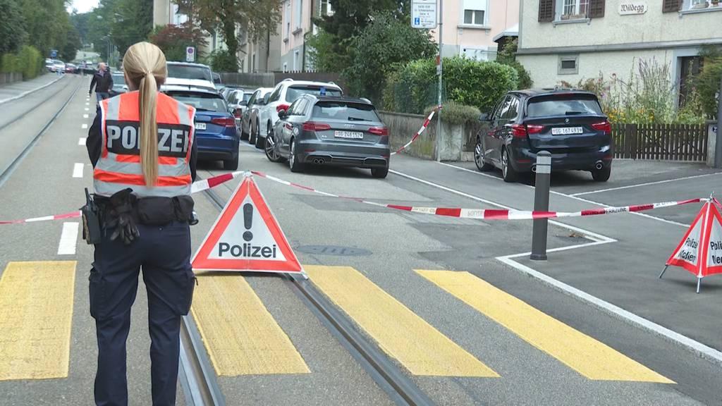 Grosseinsatz in St. Gallen: Schwerer Fall häuslicher Gewalt