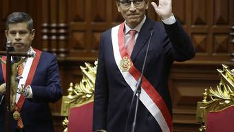 Er ist der neue Präsident von Peru: Martin Vizcarra.