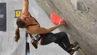 Petra Klingler (Bonstetten) verpasst die Titelverteidigung und wird in Pratteln Vize-Schweizer Meisterin im Bouldern