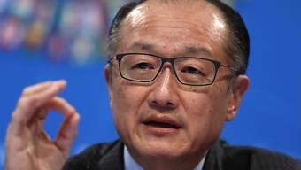 Leichte, aber reale Erholung: Weltbank-Präsident Jim Yong Kim fordert Reformen anlässlich der guten Aussichten bei der globalen Konjunktur. (Archivbild)