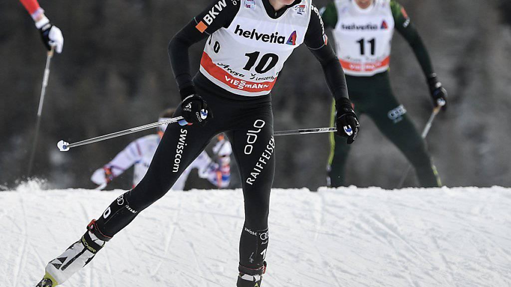 Starker Auftritt in Oberstdorf: Nathalie von Siebenthal