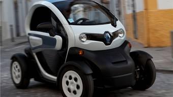 Ohne Seitenfenster, dafür geräuschlos und mit Fahrtwind im Gesicht: Der Renault Twizy.