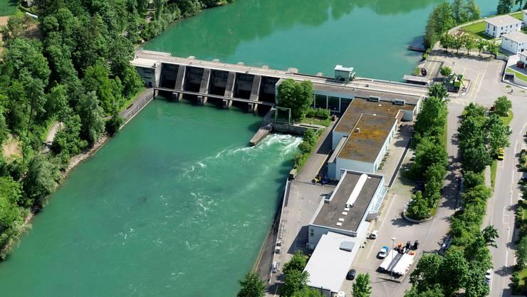 AEW-Wasserstrom steigt 2010–2012 von 20 auf 53 Prozent.