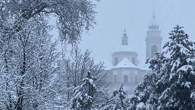 Schnee am 13. Dezember 2019