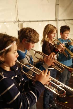 Die Musikschule Grenchen brachte Freude und ein Ständchen