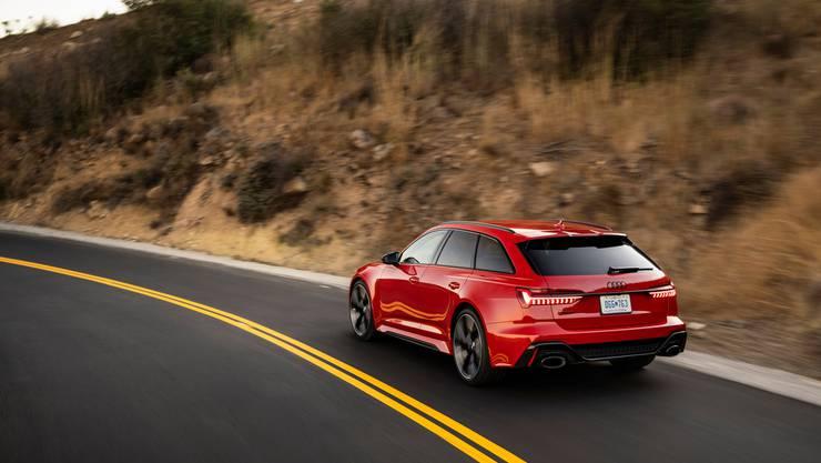 Der Audi RS6 überzeugt mit seiner Wendigkeit und einer hochwertigen Verarbeitung.
