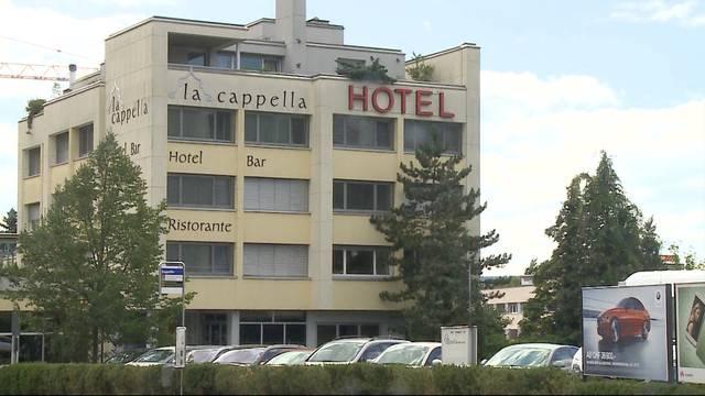 Hotel Baden wird zur Asylunterkunft