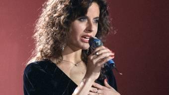 Sandra Studer singt an der Vorausscheidung zum ESC in Lugano (Archiv)