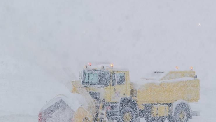 In Sotschi fiel zu viel Schnee (Symbolbild)