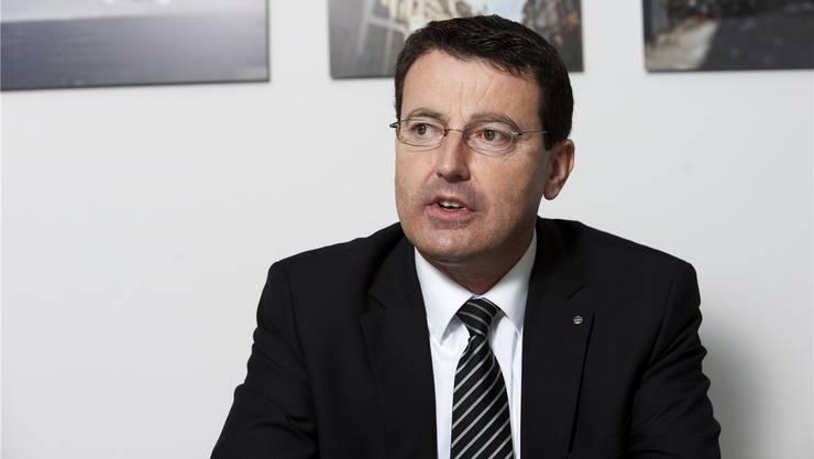 SVP-Präsident Thomas Burgherr: nicht hundertprozentig überzeugt von der Alterslimite.