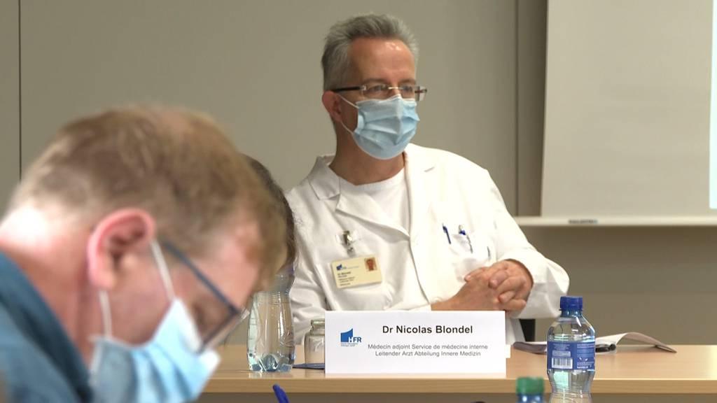 «Ich hatte heute Morgen kein Bett für Nicht-Covid-Patienten frei» - Spital Fribourg am Limit