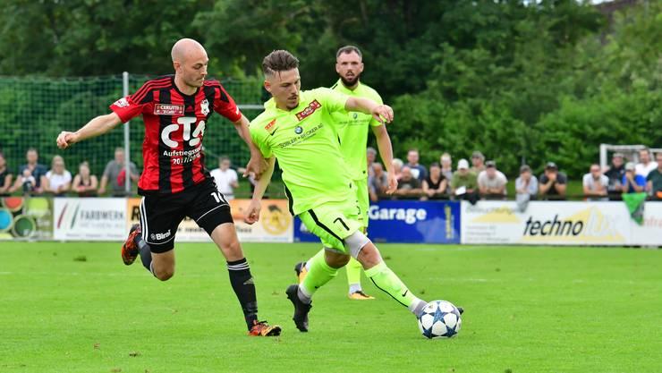 Bilder vom Spiel Münsingen-FC Solothurn vom 9.Juni 2018