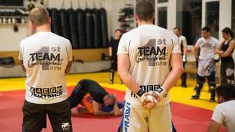 Szene aus einem Training im First-Choice Gym in Liestal.