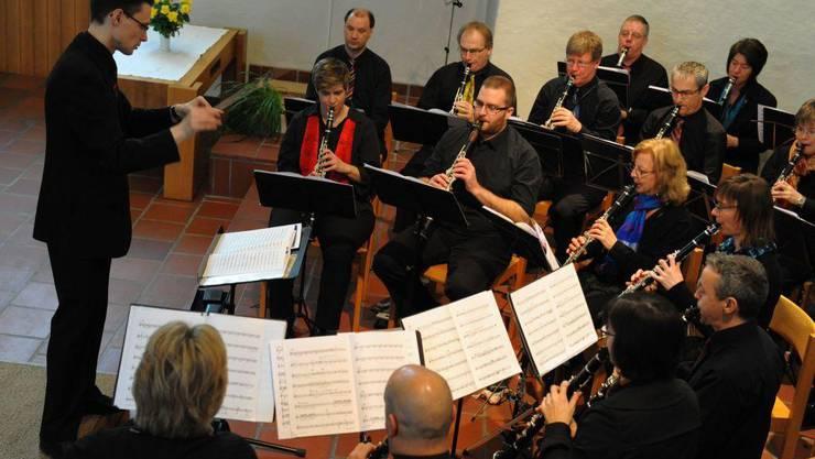 Der Klarinettenchor Wettingen im Konzert