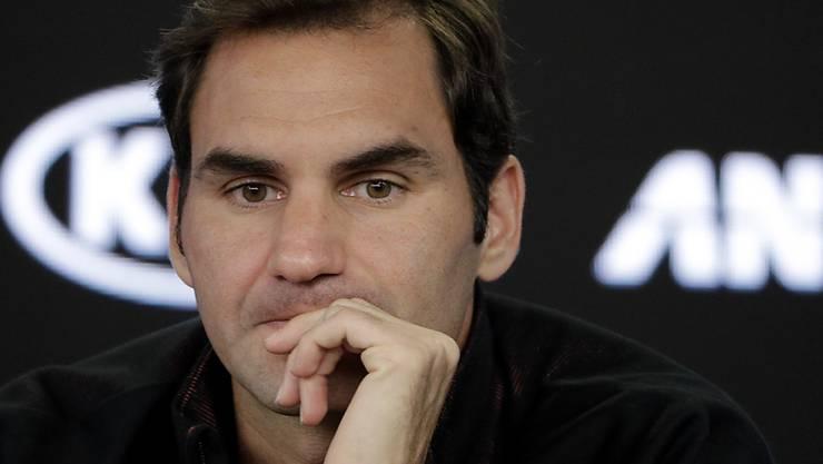 Roger Federer spricht zum Uniqlo-Gerücht.