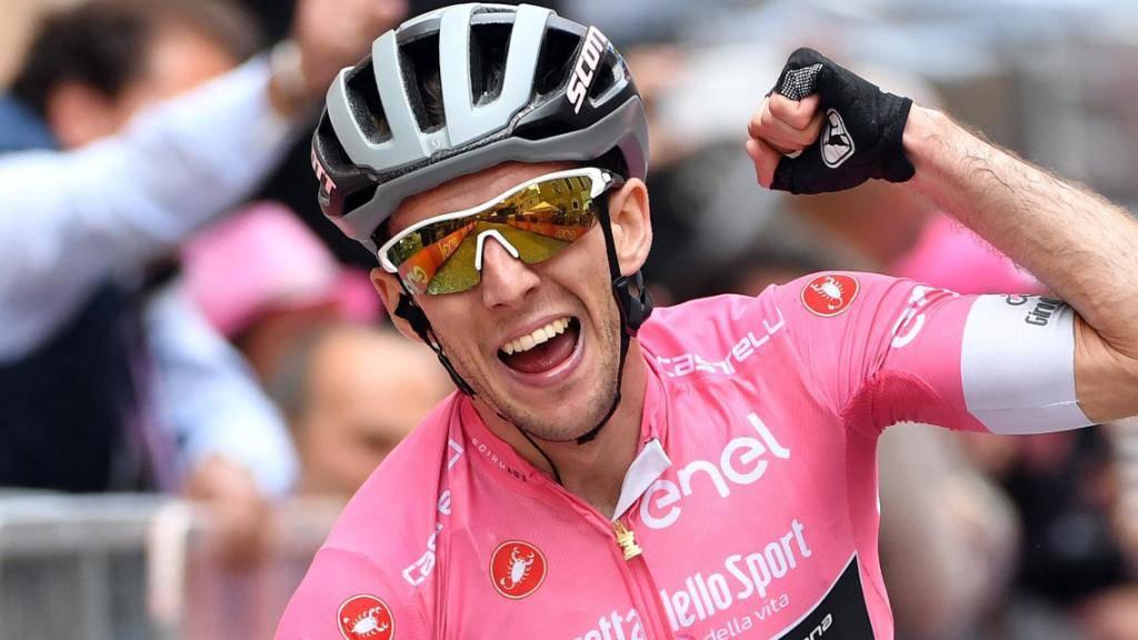 Dritter Etappensieg am diesjährigen Giro: Der Brite Simon Yates baut seine Führung im Gesamtklassement weiter aus.