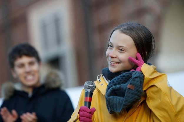 Greta Thunberg, die Ikone der Klimajugend.