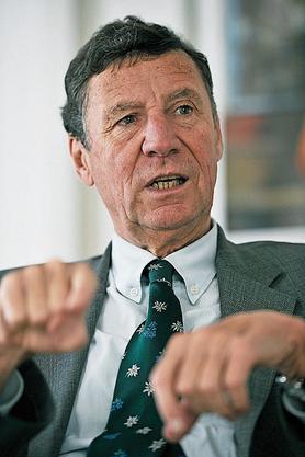 Philipp Stähelin: «Wir haben einen guten Parteipräsidenten. Ich gehe davon aus, dass er den richtigen Weg findet.»