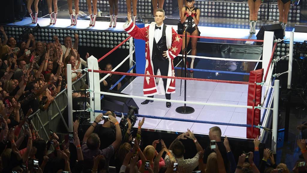 Robbie Williams kommt! Gewinne zwei Tickets