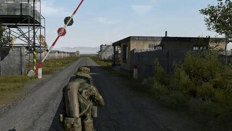 Der Spieler taucht in eine postapokalyptische Welt ein, wo er sich mit Waffengewalt gegen Zombies und andere Feinde wehren muss.Screenshot «DayZ»