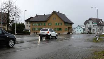 Mit einer neuen Zentrumsüberbauung und einem Verkehrskreisel wird sich der Dorfkern von Merenschwand wesentlich verändern.