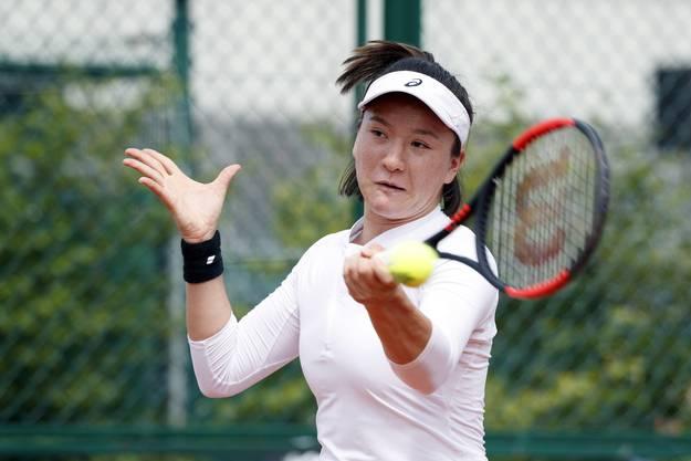 Lulu Sun an den French Open im letzten Jahr