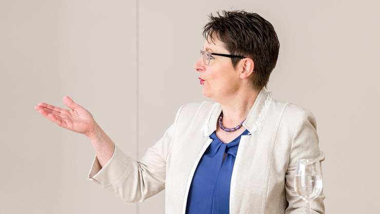 Franziska Roth war vor ihrer Wahl in den Regierungsrat als Gerichtspräsidentin tätig.