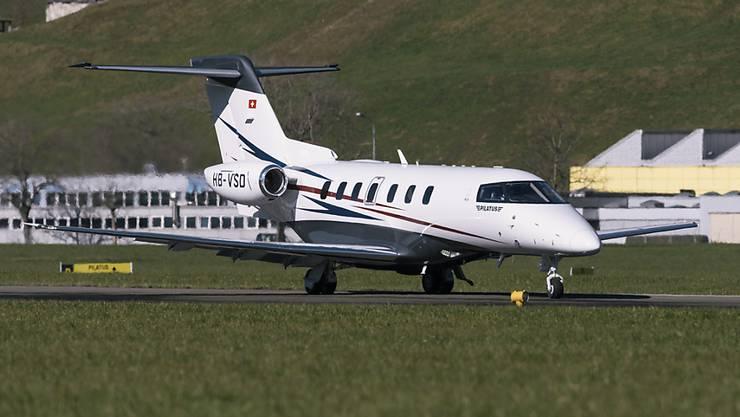 Das 50. Exemplar des Business-Jet PC-24 ist an einen US-Kunden ausgeliefert worden. (Archivbuld)