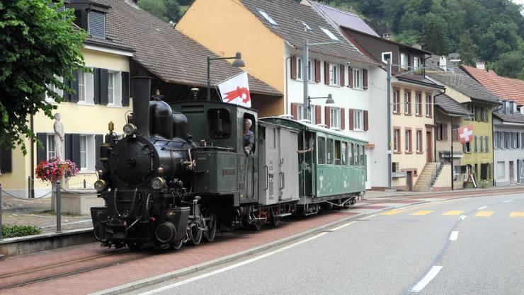 Am Montagabend dampfte die «Gedeon Thommen» in Oberdorf.