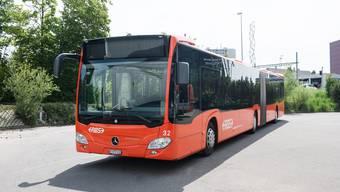 Die Firma EvoBus liefert neue Busse für RBS und BSU.