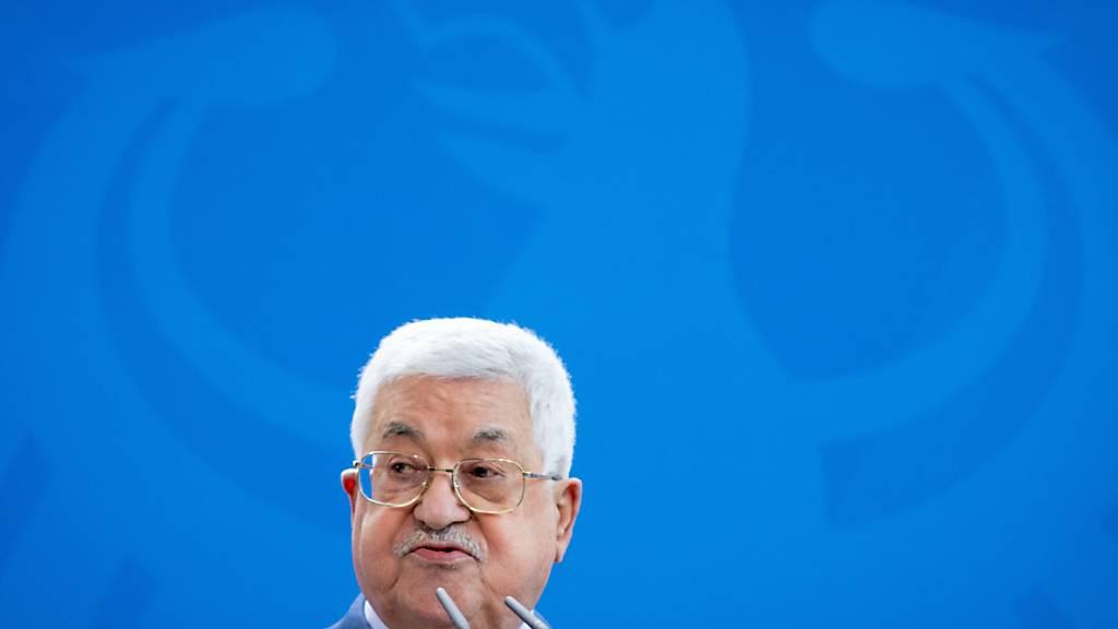 Abbas trifft Israels Verteidigungsminister Gantz