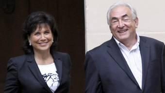 Anne Sinclair und Dominique Strauss-Kahn (Archiv)