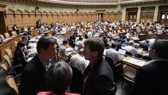 Blick in den Nationalrat: Die grosse Kammer genehmigt den Geschäftsbericht (Archiv)