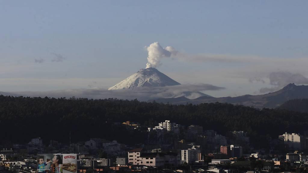 Schweizerin am Cotopaxi in Ecuador tödlich verunglückt.