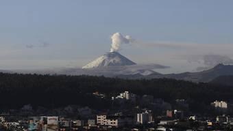 Der Vulkan Cotopaxi von Quito aus gesehen. (Archivbild).