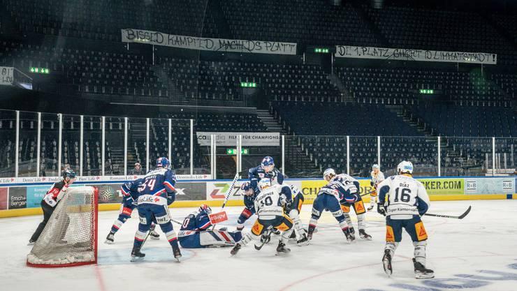 Geisterspiele wie hier im Zürcher Hallenstadion, aber auch Spiele mit nur wenigen Zuschauern, ergeben für die Eishockeyklubs keinen Sinn.