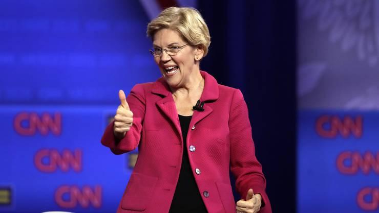 Elizabeth Warren (70) hat gegenüber ihrer Konkurrenz Boden gut gemacht.